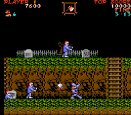 Screenshot of Ghosts'n Goblins (cartridge version)